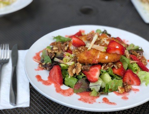 Panko Goat Cheese Salad